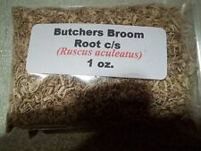 1 oz. Butchers Broom Root c/s (Ruscus aculeatus)