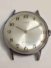 Timex Mens Wind Up Watch For Parts Or Repair