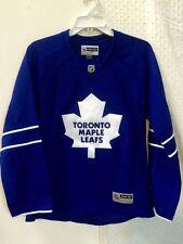 Reebok Women's Premier NHL Jersey Toronto Maple Leafs Team Blue sz 2X