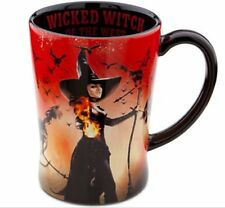NIB Disney Store Wicked Witch of the West Mug Coffee Cup Red 16 Oz Halloween