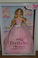 2015 Pink Label BIRTHDAY WISHES Barbie - BRAND NEW