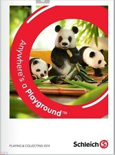 2014 Schleich Toy Animal Figurine Collectors Catalog Book Magazine Brochure