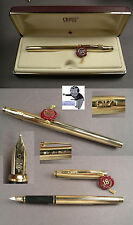# Cross Fountain pen in gold plated with Advertising 90 Years in Box #