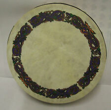 "Irish MUSIC 8"" ANIMALS Waltons Bodhran Drum Beater 2 Items"