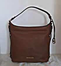 Michael Kors - Bedford Belted Large Leather Shoulder Bag - Luggage