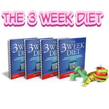 The 3 Week Diet Fat Diminisher & Red Smoothie Detox System Weight Loss Fat
