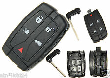 Remote Control Casing with Blank Key Land Rover 2 TD4 LR2 S SE HSE 2006