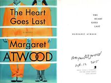 Margaret Atwood~PERSONALLY SIGNED & DATED~The Heart Goes Last~1stUS/1st+PHOTOS!