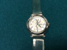 Rare Armitron 2200/57 1994 Bugs Bunny Watch Analog Dial 100FT WR Works Great