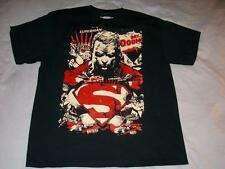 Superman Day of Doom Doomsday DC Comics Black T-Shirt Mens X-Large XL used