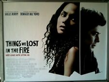Cinema Poster: THINGS WE LOST IN THE FIRE 2008 (Quad) Halle Berry David Duchovny