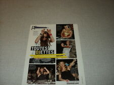 G041 PARIS HILTON LINDSAY LOHAN TORI SPELLING ASIA ARGENTO '2007 FRENCH CLIPPING