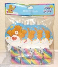 NEW 8 CARE BEARS BLOWOUTS RAINBOW PARTY FAVORS SUPPLIES