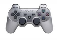 Official Sony PS3 PlayStation 3 Wireless Dualshock 3 Controller Metallic Gray UD