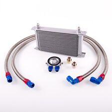 19 File Radiatore olio Kit retrofit incl. Termostato Dash 10,Lunghezza:
