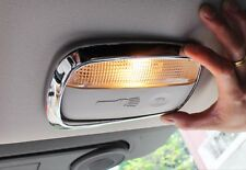 For Jeep Compass patriot 11-15 Interior Middle + Rear Reading light cover 2pcs
