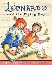Leonardo and the Flying Boy by Laurence Anholt (2007, Picture Book)
