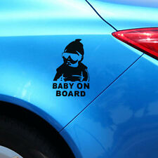 Car Sticker Baby On Board Handsome Boy Window Car Styling Removable Decals Auto