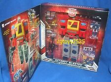 Transformers SDCC Commerorative Edition AUTOBOT BLASTER New G1 Series