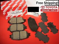 2002 through 2006 Toyota Camry OEM Front Genuine Ceramic Brake Pads LOWEST PRICE