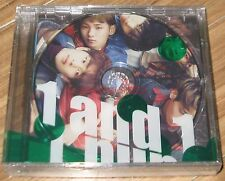 SHINee 1and1 1 and 1 5TH Album Repackage K-POP 2 CD + PHOTOCARD + FOLDED POSTER