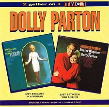 (CD) Dolly Parton-Just Because I 'm a woman + Just between you and me