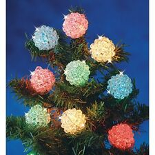 """Kit Makes 12 Snowball light covers 1 3/8"""" bead kit fit over your mini lights NEW"""