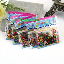 10 x bags crystal soil water mud beads wedding party flower rose home decor vase