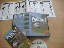 PRO TRAIN 3 (Microsoft Train Simulator Add-On)