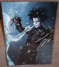 Edward Scissorhands Glossy Art Print 11 x 17 In Hard Plastic Sleeve