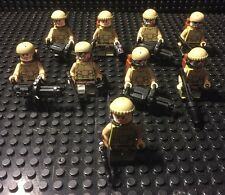 Lego Star Wars Custom Star wars Rebel Special Operations Squad, 9 Figures