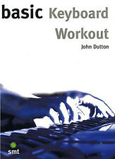 Basic Keyboard Workout Learn to Play Beginner Counterpoint Chords Music Book