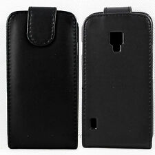 Amazing Flip Leather Phone Skin Pouch Cover Case Fit For LG P715 Optimus L7 II