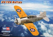 1/72 US F2A Buffalo Easy Assembly Hobby Boss model kit 80290  FREE SHIPPING