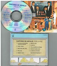Cantores De Hispalis ‎– Por La Paz CD Album 1988 Spain RARO