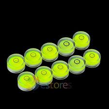 10 x 25*10mm Disc Bubble Spirit Level Round Circle Circular Jeweller Tool Tripod