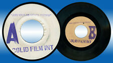Philippines SOLID FILM INT Ang Krus Ng Monte Piedra OPM 45 rpm TEST PRESS Record