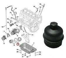 Oil Filter Housing Top Cover For Citroen Peugeot 1.4HDi 1.6HDi