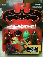 BATMAN & ROBIN MOVIE: NIGHT HUNTER ROBIN VS EVIL POISON IVY, 2 figure set MIP