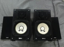 Used YAMAHA NS-10MM Mini Matching Pair Studio Monitor Speaker DHL Free ship