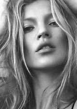 Kate Moss Poster Cool Hot Super Model Large Quality FREE P+P, A1 3ftx2ft approx