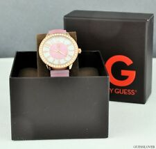 Nuovo Orologio GUESS Rose Gomma Donna NeUf G94055L2
