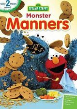 Sesame Street: Monster Manners (DVD, 2014) New/1st class shipping