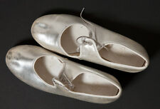 """Silver girl's tap shoes """"TAPPERS POINTERS"""""""