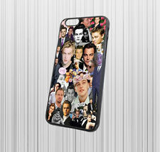 for iPhone 6 iPhone 6s hard case cover - Leonardo Dicaprio - case color - black