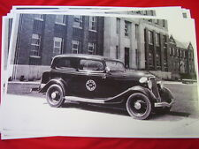 1934 FORD  MICHIGAN STATE POLICE DEPT  11 X 17  PHOTO   PICTURE