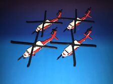 Micro Machines Military Lot X4 Sikorsky UH-60A Blackhawk Helicopter Aircraft