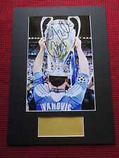 CHELSEA - BRANISLAV IVANOVIC PERSONALLY HAND SIGNED A3 PHOTO MOUNT DISPLAY - COA