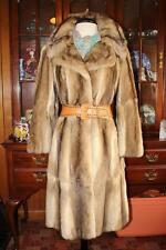 Adorable BASSARISK~ Rock Sable~ Ringtail Cat Fur Coat  4/3 Length Womens S M 6/8