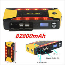 12V Portable Car Jump Starter Pack Battery Charger 82800mAh Emergency Power Bank